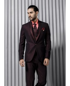 Single Button Five Piece Tuxedo