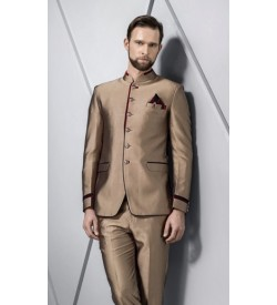 Partywear Jodhpuri Suit With Trouser