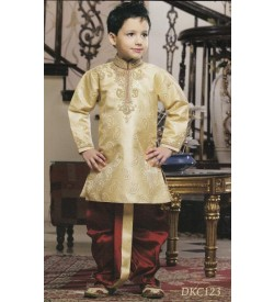 Cream Dhoti Kurta