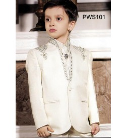Cream  Party Wear Suit