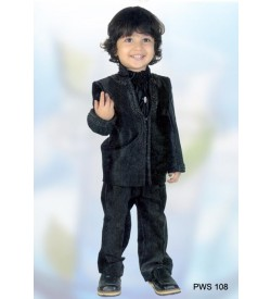 Black Color Party Wear Suit