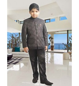 Wine Jodhpuri Suit