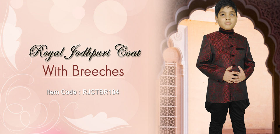 Royal Jodhpuri Coat-Breeches