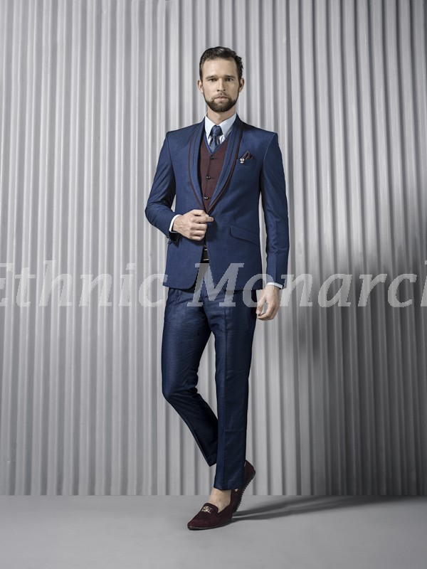 Smart Tuxedo in Blue