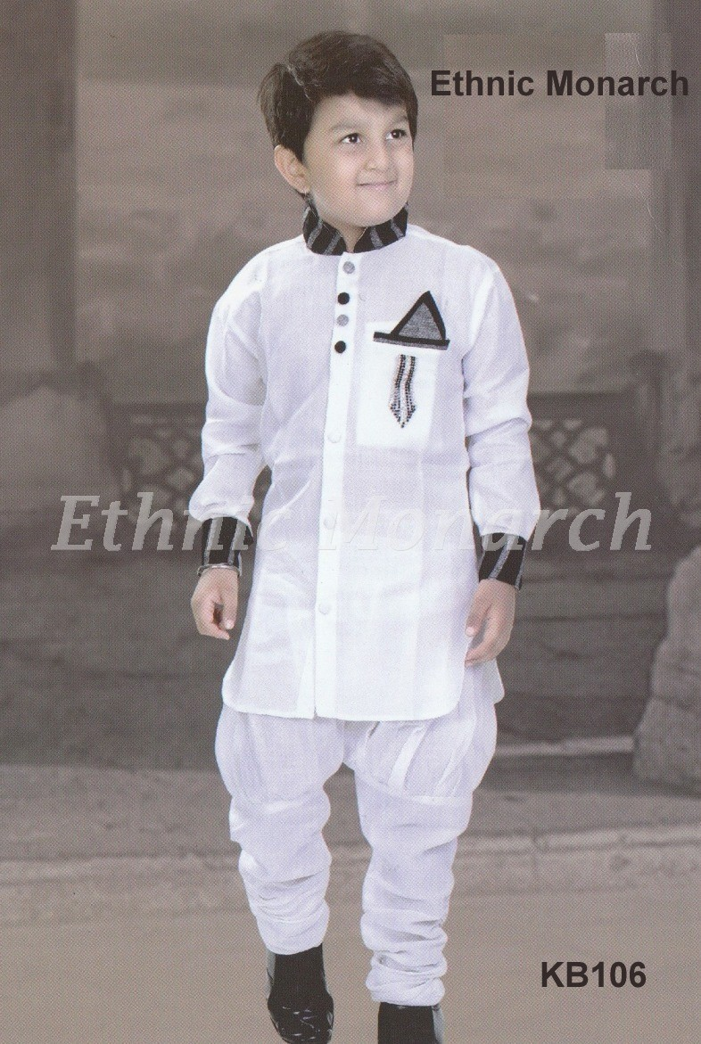 Trendy White Kurta