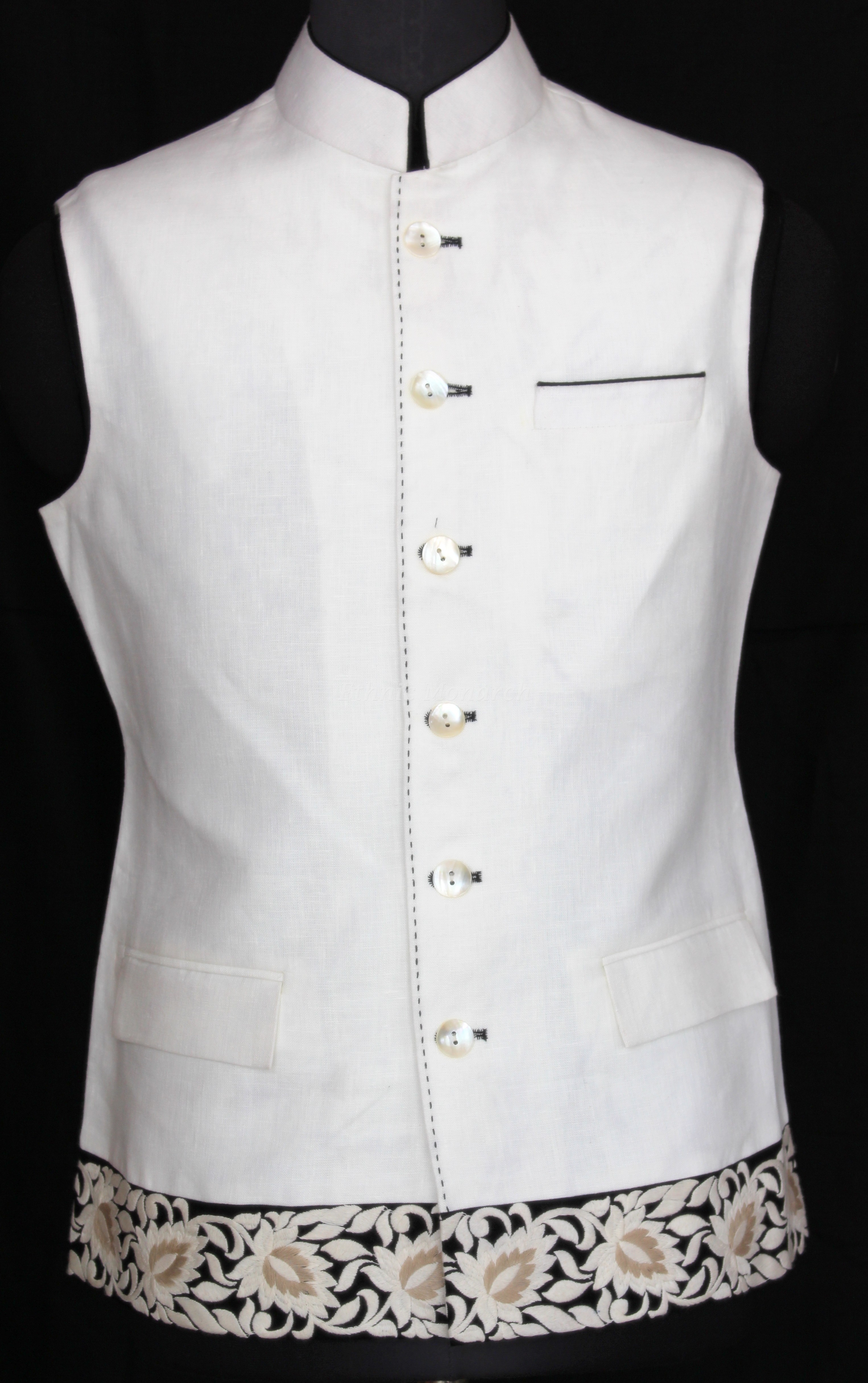 Jacket In white Color
