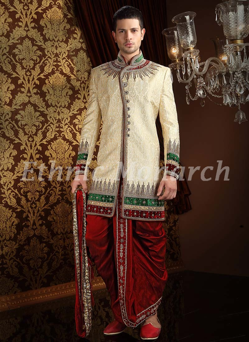 Indo Western With Dhoti