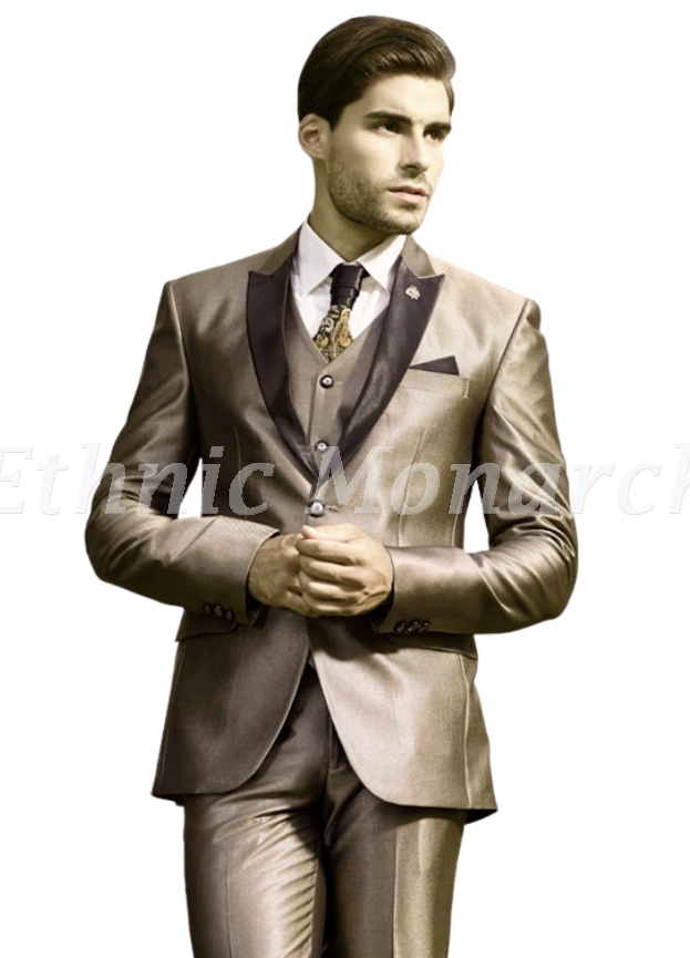 Smashing Three Piece Suit with Tie And Shirt
