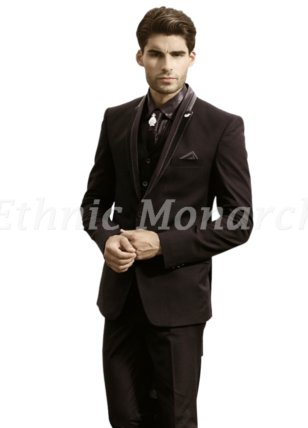 Outstanding Three Piece Suit With Shirt And Tie