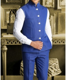 Royal Blue Jacket With Trouser