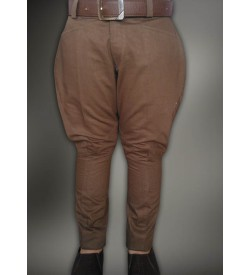 Mehandi Green Cotton  Breeches