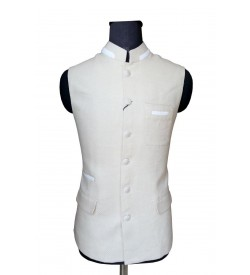 Breathtaking Cream Nehru Jacket