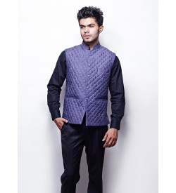 QUILTED WAIST COAT