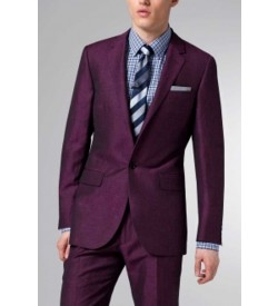 One Button Single Breast Formal Suit