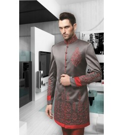 Embroidered Indo Western