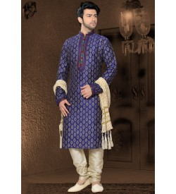 Irresistible Blue Kurta